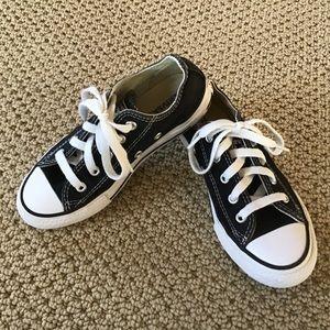 Kid's Black Converse Size 12.5